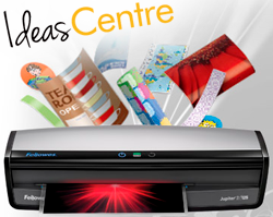 Explore lamination with our Ideas Centre!