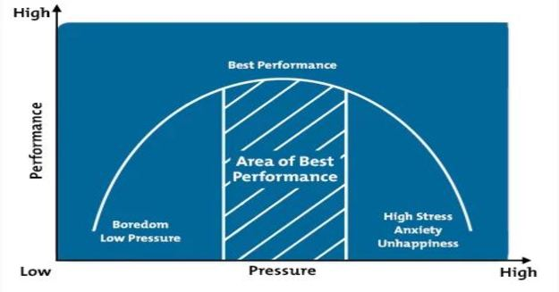 Performance-Pressure Graph