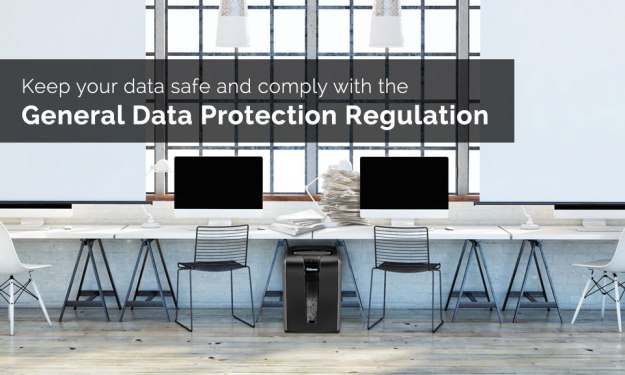 Keep your data safe and comply with GDPR